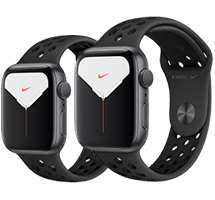 Apple Watch S5 Nike+ Space Gray