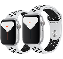 Apple Watch S5 Nike+ Silver